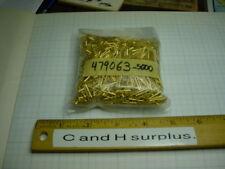 Gold contact pin 479063 3,000 pcs +   540 grams gross wt