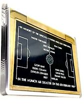 United Manchester Magnet 1958 Plaque Football Gifts