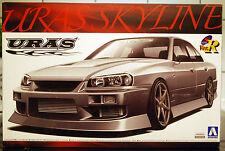 2000 Nissan Skyline ER 34 Uras, 1:24, JDM Aoshima 000205