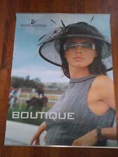 Daniel Swarovski Paris Crystal Eyewear Boutique Advertising poster Vintage promo
