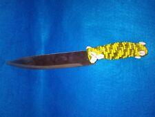 Cuchillo knife forrado en Oshun Ochun Mama Chola palo religion yoruba