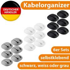 Kabel Organizer Kabelhalter Kabe...