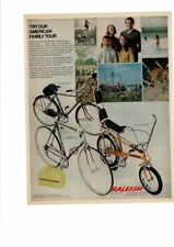 VINTAGE 1970 RALEIGH CHOPPER PROFESSIONALSPORTS BICYCLE BIKE TIGER AD PRINT