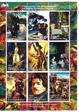 NIGER, 1er jour 7/1998 ,Les plus Grands peintres: EUGENE DELACROIX   SP41