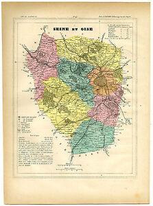 Antique Print-SEINE ET OISE-VERSAILLES-PARIS-FRANCE-Brugere-Trousset-1877
