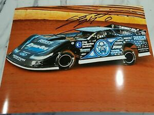 Scott Bloomquist 2020 SIGNED 8x10 AUTOGRAPHED Lucus Oil Dirt Late Model w Pic