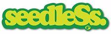 seedleSs Clothing Coop Big Green Smoke Sticker Decal Logo Slap Rasta 420 710 NEW