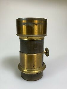 Jamin A Darlot Paris 1860 Petzval - Brass lens EARLY