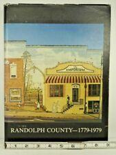Randolph County (NC) 1779-1979 1980 HC DJ Large Format