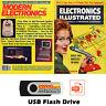 Modern Electronics Magazine & Electronics Illustrated Magazine 200 Issues USB!