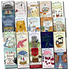 Agatha Raisin Series Collection 20 Books Set By M C Beaton Complete