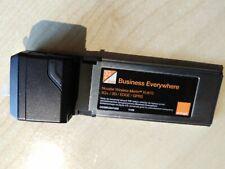 GLOBAL WIRELESS DATA CARD NOVATEL  Merlin XU870 7.2mb 3G/ 3G+ Edge for notebook