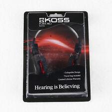 KOSS Porta Pro Red/Black Nylon Wire Without Microphone Portable HIFI Headphones