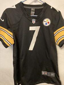 Women's Nike On Field Pittsburgh Steelers Roethlisberger Jersey XL