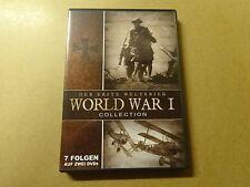 2- DISC DVD / DER ERSTE WELTKRIEG - WORLD WAR I COLLECTION - 7 FOLGEN AUF 2 DVDs