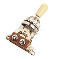 3 Way Guitar Toggle Switch for Electric Guitar Parts Chrome Black Gold