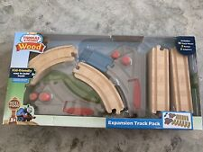Thomas and Friends - Wood Train Expansion Track Pack - 20 Pieces