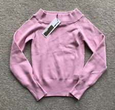 LADIES' PINK GAS JUMPER. COTTON. Size XL. RRP £55.