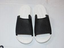 Crocs Citilane Roka Slide M Black White sandals Mens M10 standard fit 204222