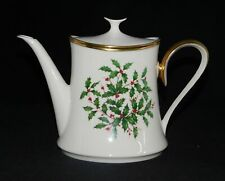 LENOX MADE IN USA CHRISTMAS HOLIDAY TEAPOT