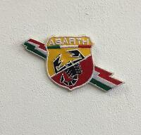 Abarth Racing Cars Italian Art Badge Iron or Sew on Embroidered