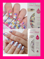 INCOCO Nail Polish Applique Apps Strips Set of 2 ~ 16 ea CHEMISTRY & MASTERPIECE
