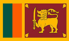 Sri Lanka Lankan Approx 6ftx Almost 3ft National Country Flag With Metal Eyelets