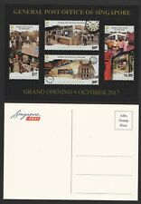 SINGAPORE 2017 GENERAL POST OFFICE GRAND OPENING COMMEMORATIVE POSTCARDS (BLANK)