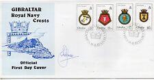 Gibraltar Escudos Sobre primer día del año 1982 (DF-275)