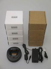 10 x  Motorola ORIGINAL OEM CP200/CP200D Single Rapid Charger