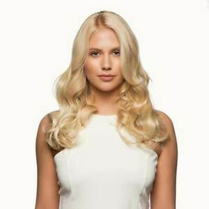Stranded 14 - 16 inch one piece Curly clip in hair extensions hairpiece weft