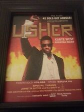 Usher Kanye West Rare Framed Original Tour Promo Ad! Printed Once!