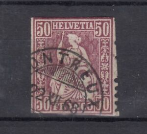 Switzerland 1881 50c Superb CDS High Cat VFU J5065