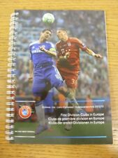 2012/2013 UEFA: First Division clubs In Europe - Official Address List, Binder B