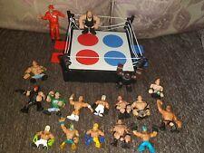 Wwe Wrestling Ring And Figure Joblot/bundle