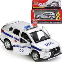 Mitsubishi Outlander Russian Police Diecast Model Car Scale 1:36