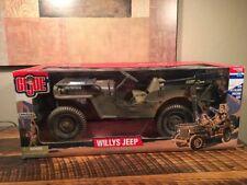 "GI Joe Willys Jeep 12"" Limited Edition with .30 Caliber Machine Gun 1:6 scale"