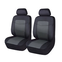 universal Car Seat Covers 2 Fronts Set pu Waterproof Airbag Compitable