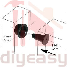 Sliding Gate Guide In Tool Rollers Guides
