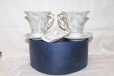 2 Vintage ~ Italian Design Porcelain ~ Demi Cup And Saucer ~ Coffee/Tea