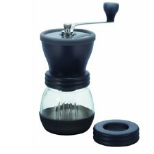 Medium Glass Hand Coffee Grinder With Ceramic Burrs, Clear