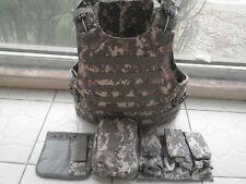 ACU Combat Tactical Soft Bullet proof vest IIIA NIJ0101.06 Size:M