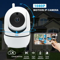 WIFI 720/1080P P2P Audio Outdoor IR Night Vision Wireless IP Camera Home SecTLU