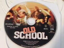 Old School (DVD, 2003, Full Frame R-Rated Version)Disc Only Free Shipping