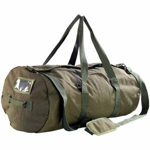 Seesack XXL: XXL-Canvas-Reisetasche mit gepolstertem Schultergurt, 100 Liter