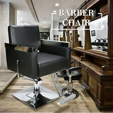 Hydraulic Recliner Barber Chair Salon Styling Beauty Shampoo Spa Equipment Chair