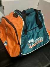 Miaimi Dolphins Travel Duffel Bag Reebok Carrying Bag NFL