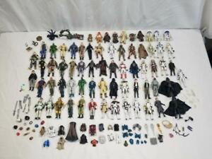 Huge GI Joe / Star Wars 3 3/4 Action Figure Lot w Some Accessories