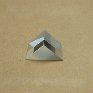 2pcs 3x3x3cm K9 Optical Glass Triangular Prisms Angle Slope Reflecting Prism