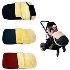 Sonia Originelli Baby Fußsack Kinderwagen Lammfell Fusssack Buggy warm kuschelig